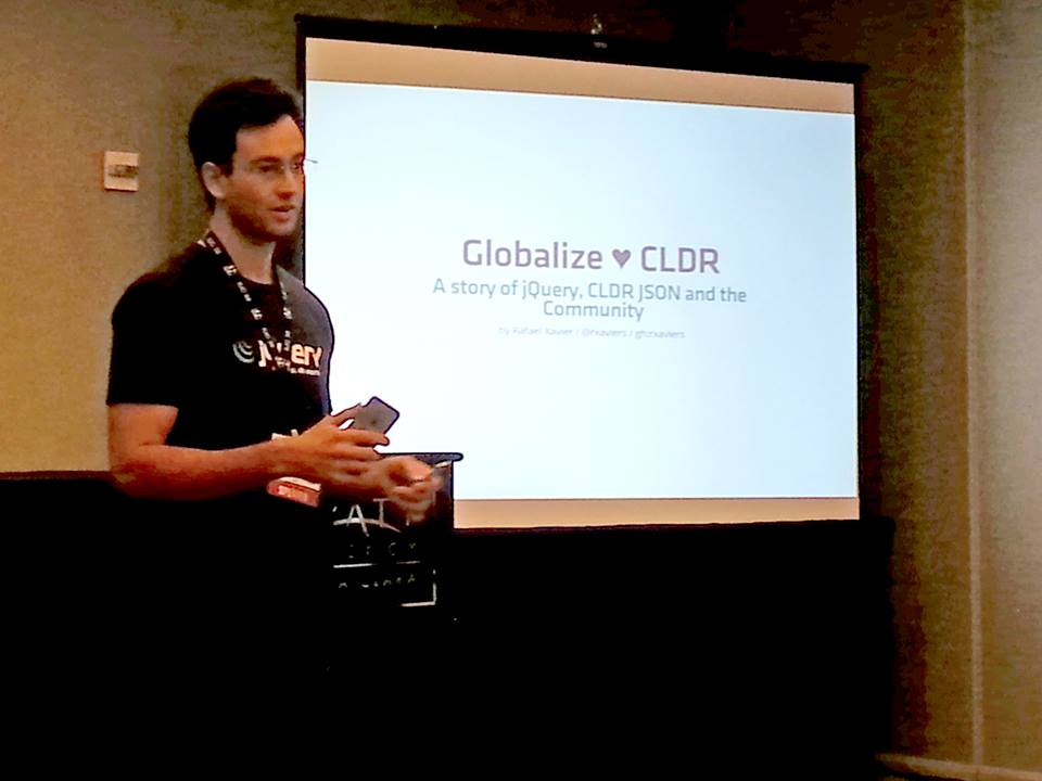 Presenting Globalize at Unicode Conf